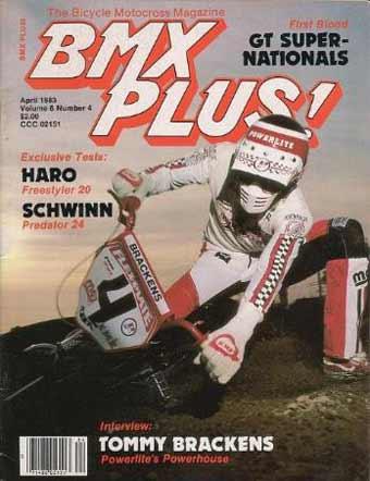 Tommy Brackens BMX Plus Cover