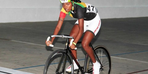 Female cyclist, Naomi Singh
