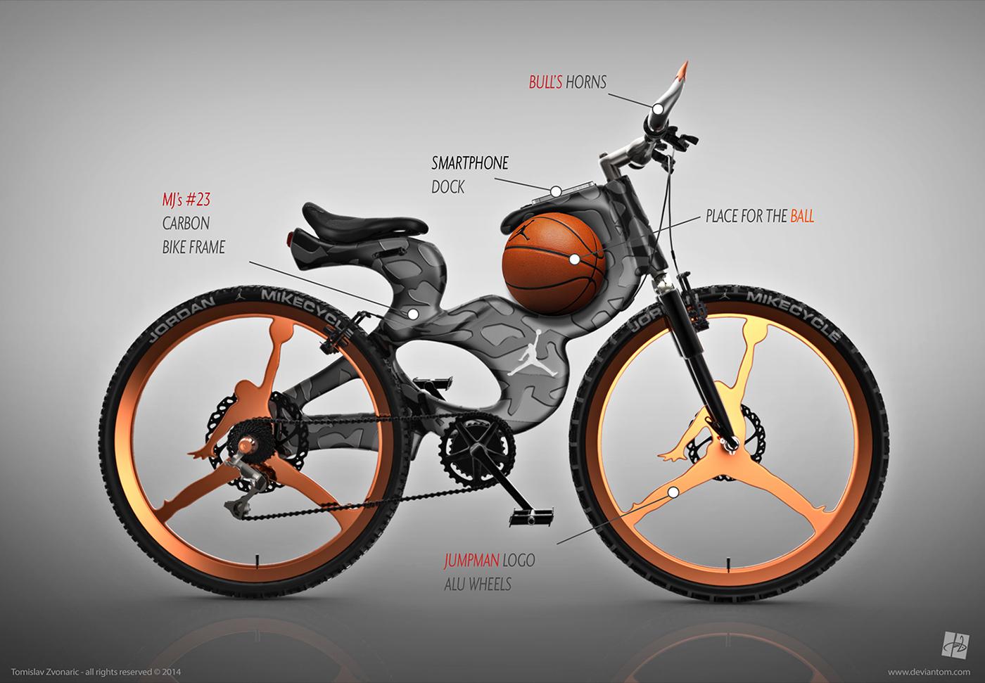 Jordan MTB carbon Bike