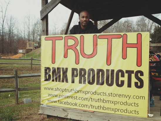 Truth BMX Products Co-Owner Eric Spears