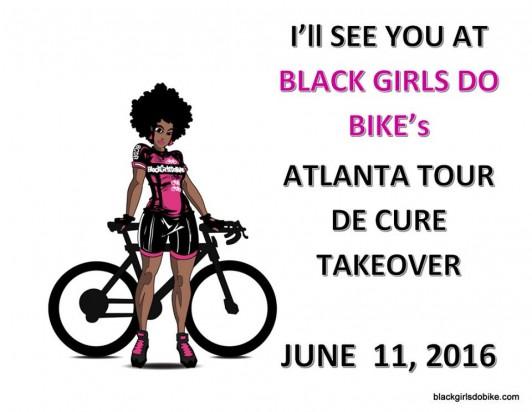 black girls do bike, atlanta tour