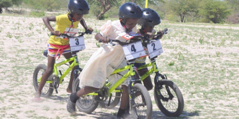 Girls-BMX Race Namibia