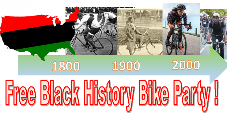 Free Black History Bike Party