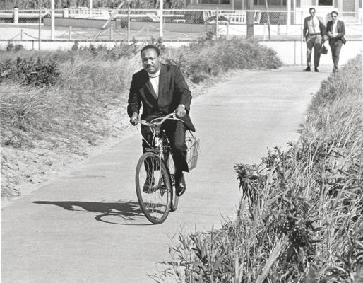 martin luther king jr, bicycling