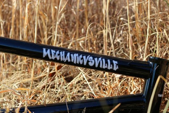 Truth BMX Mechanicsville top tube