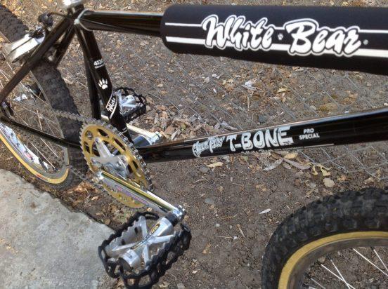 White Bear, Shawn Texas T-Bone BMX
