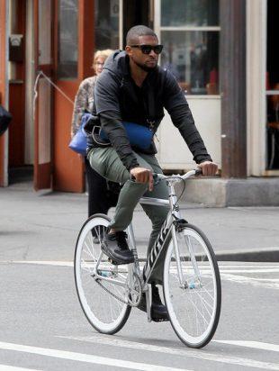 Usher bike