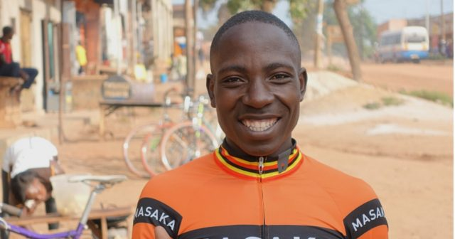 Kato Paul masaka cycling club