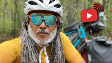 bicycle nomad underground railroad interview