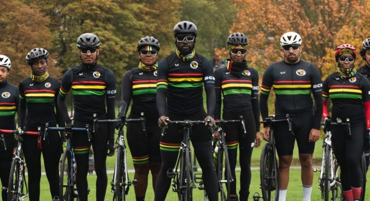 black cyclist network group